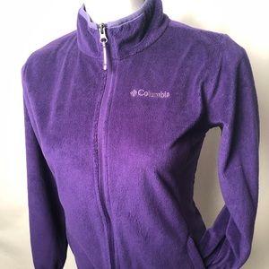 Columbia Lightweight fleece Purple Womens Size L